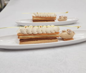 Contemporary plated desserts